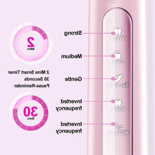 Fairywill Electric Sonic 3 Heads Pink