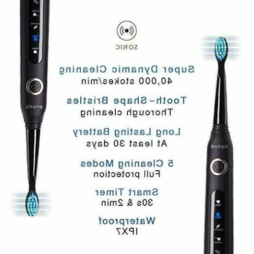Fairywill Electric Rechargeable Case 8 Brush