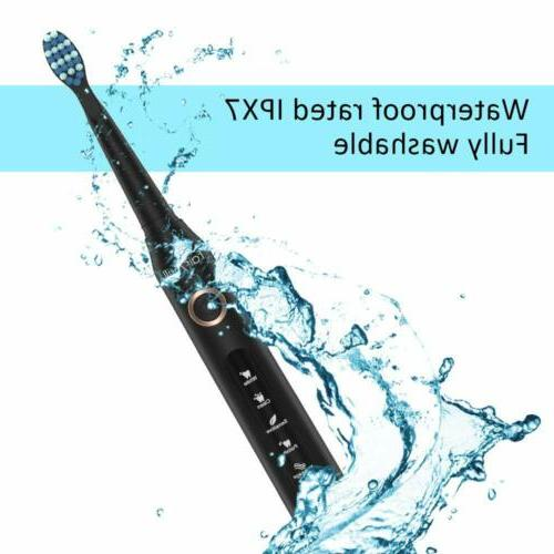 Sonic Rechargeable 10 Brushes Waterproof