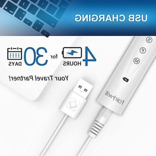 Fairywill Electric Toothbrush Waterproof 5 Timer