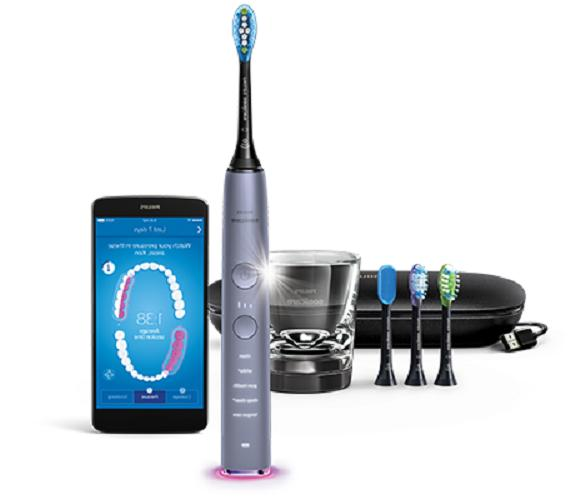 9500 professional diamondclean smart toothbrush 5 mode