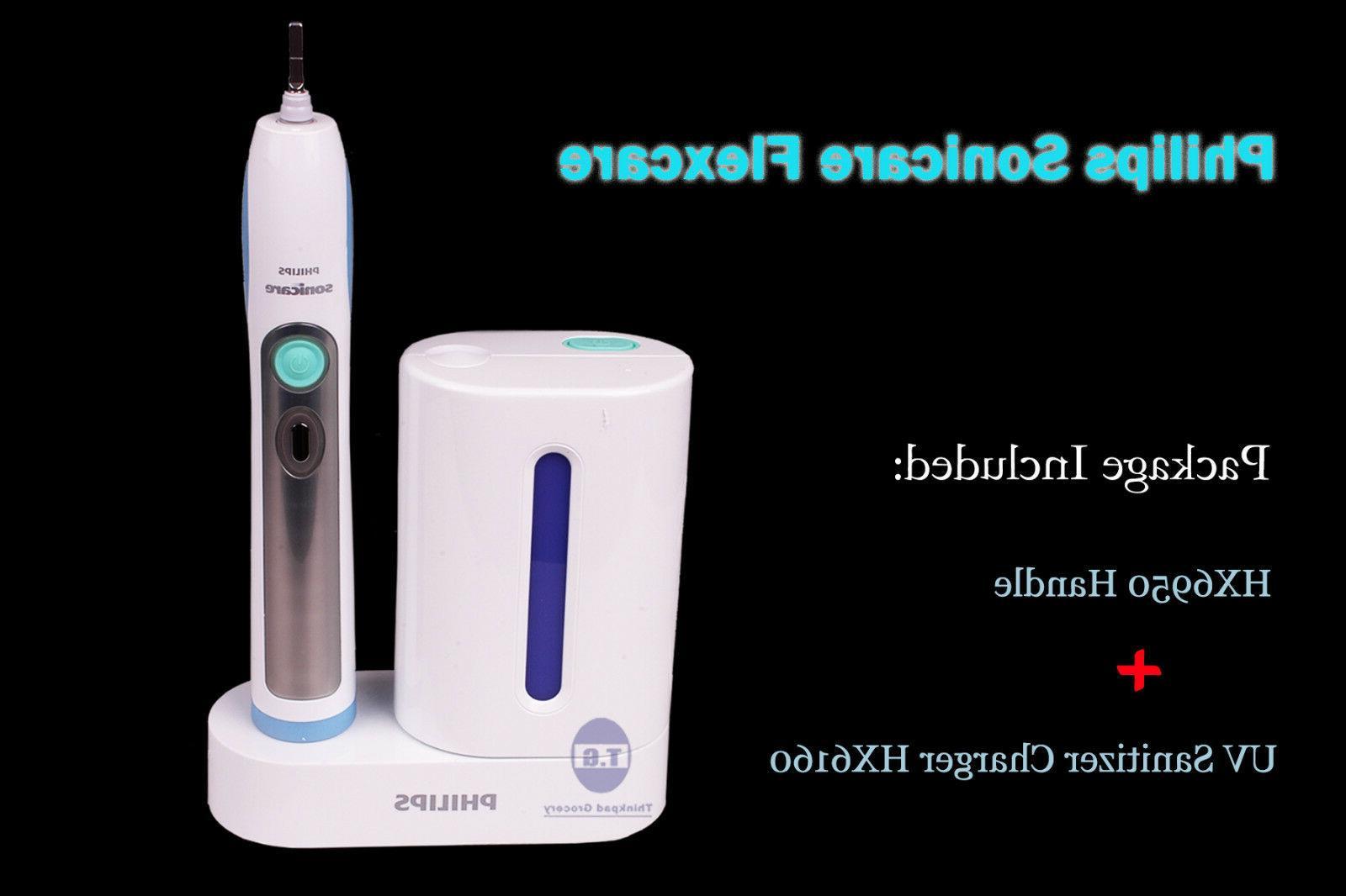 Philips Sonicare Flexcare Toothbrush HX6950 Handle +UV Sanit