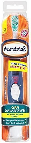 Spinbrush Pro Battery Powered Toothbrush, Soft