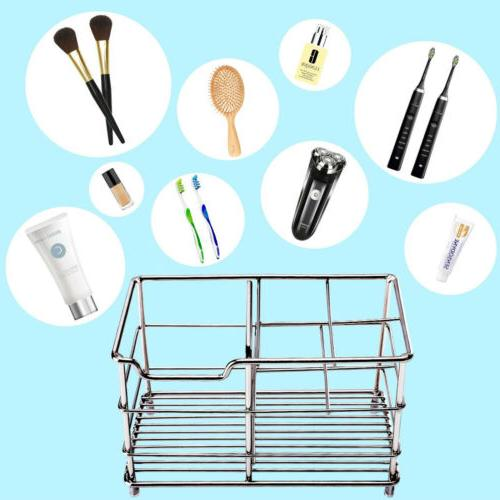 Bathroom Toothbrush Steel Rack