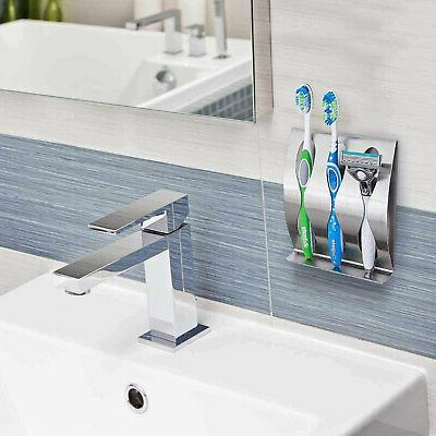 Stainless Mount Stand Toothpaste Set