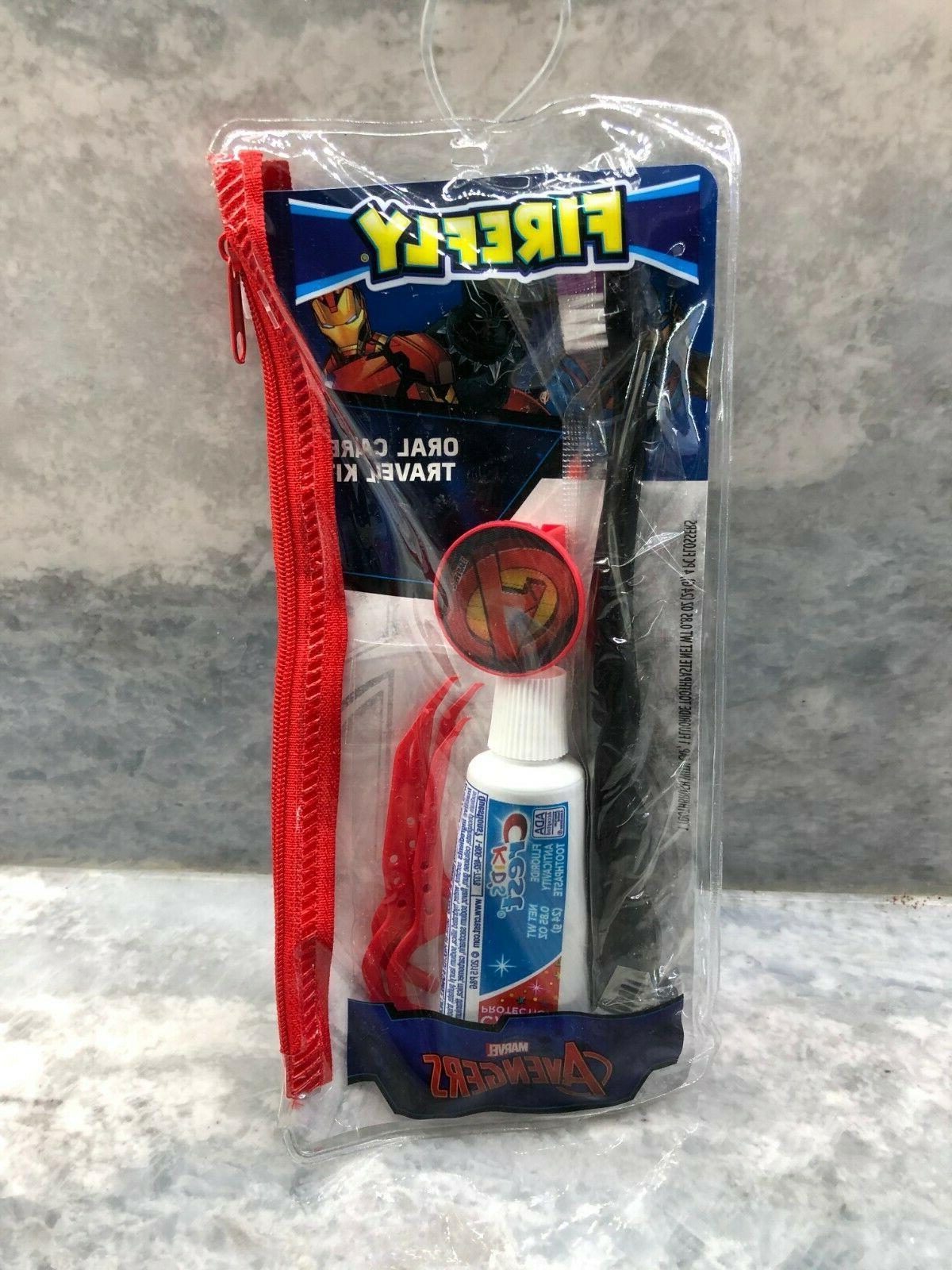 Firefly Star Wars Dental Travel Kit pouch Toothbrush Orange