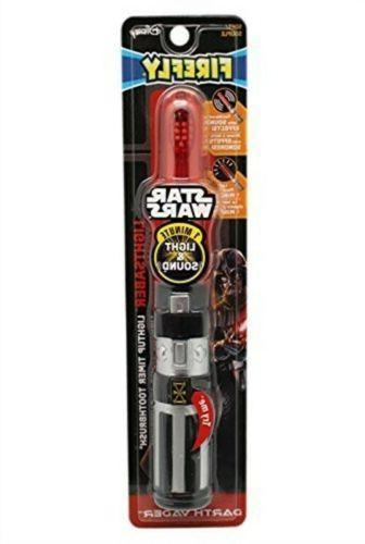 Disney STAR WARS Firefly Light Saber Light up Timer Toothbru