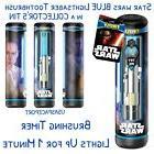 Star Wars Talking BLUE Lighted LIGHTSABER TOOTHBRUSH Kids Ba