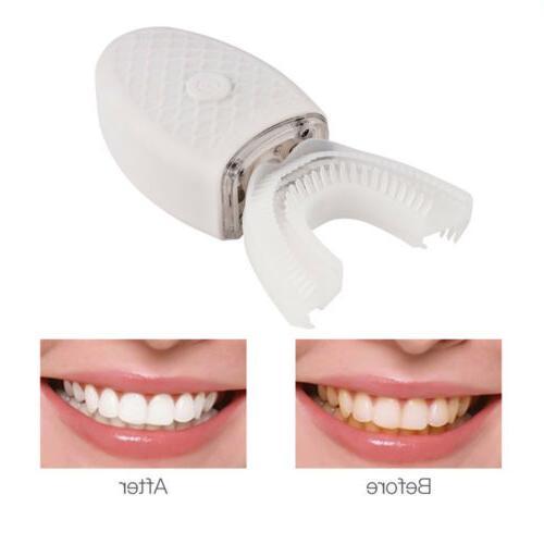 Teeth Whitening Nano Light Wireless Sonic Toothbrush