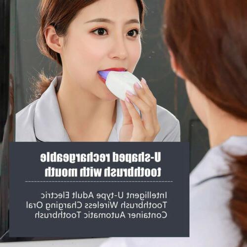 Teeth Whitening Wireless Automatic Sonic Toothbrush US