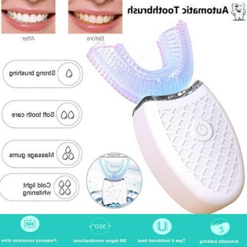 teeth whitening nano light wireless automatic 360