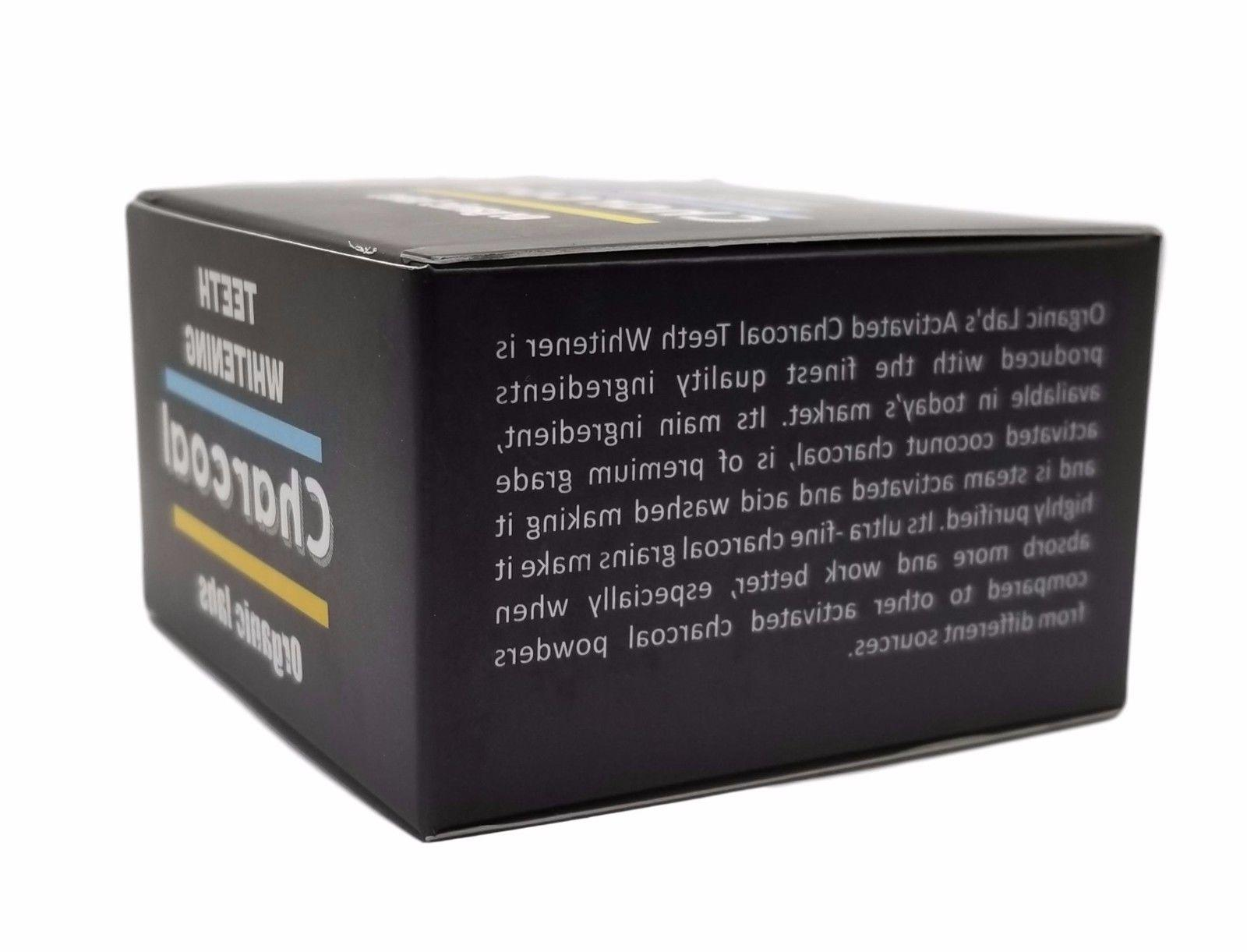 ACTIVATED TEETH CHARCOAL TOOTHPASTE POWDER FOOD GRADE
