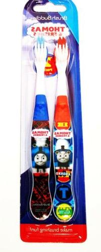 Thomas and Friends Train Toothbrush Childrens Twin Pack One