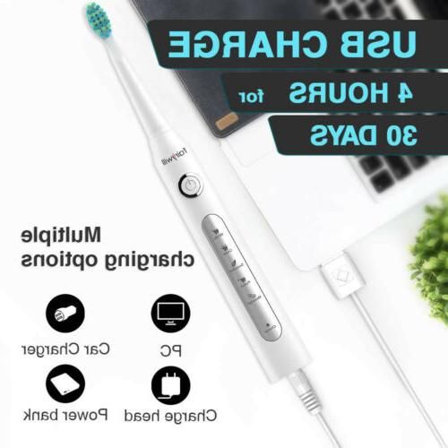 Fairywill Toothbrush 7 Replacement Heads