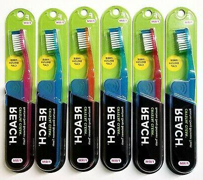 Reach Toothbrush Crystal Clean Firm