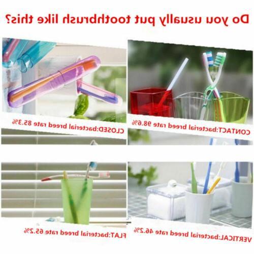 Toothbrush UV Light Sterilizer Automatic Toothpaste Dispenser
