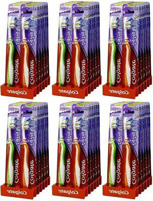 toothbrush zig zag medium 6 pack