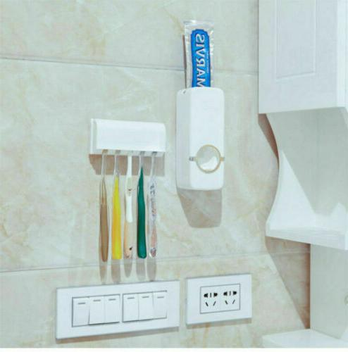 Toothpaste Holder Wall Stand US