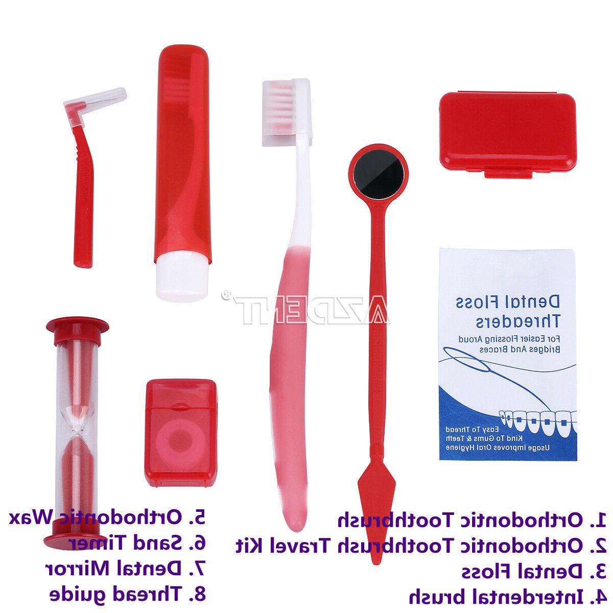 usa 20x ortho brush ties toothbrush interdental
