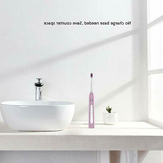Gloridea Rechargeable toothbrush with Pink for Girls