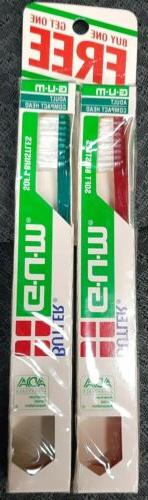 Vtg NIP lot of  2 G.U.M. Butler GUM ToothBrush compact with