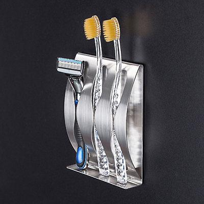 Stainless Steel Toothbrush Mount