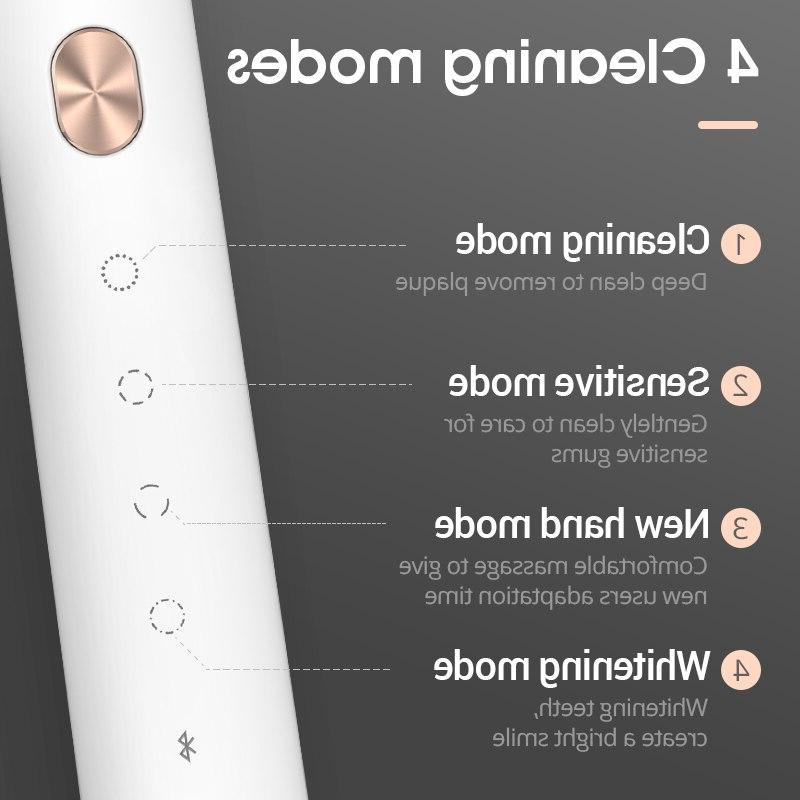 Soocas <font><b>Toothbrush</b></font> Upgraded Adult Ultrasonic <font><b>Rechargeable</b></font>