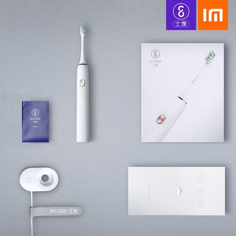 Soocas <font><b>Toothbrush</b></font> Upgraded Ultrasonic automatic <font><b>Toothbrush</b></font> <font><b>Rechargeable</b></font>