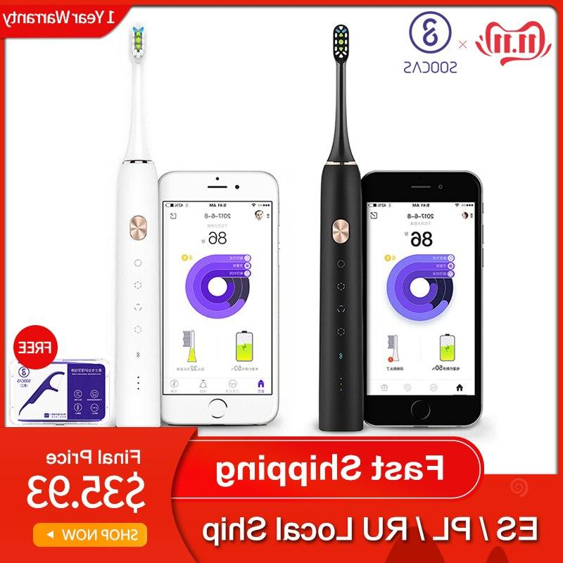 x3 sonic electric font b toothbrush b