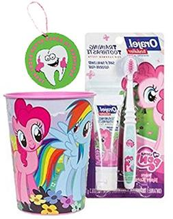 My Little Pony 3pc Toddler Training Oral Hygiene Set!  Soft