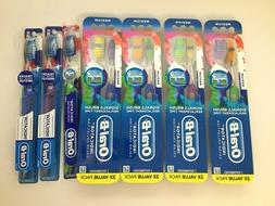 Lot 4 Oral-B Indicator Contour Clean Toothbrush Value Pack M