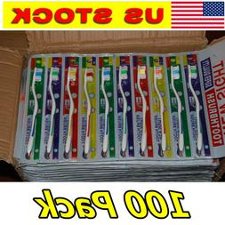 Lot Of 100pc Toothbrush Toothbrushes Wholesale Free Shipping