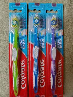 Lot of  Firm Colgate Extra Clean Toothbrushes