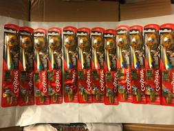 Lots 12 COLGATE TOOTHBRUSH 360 CHARCOAL GOLD Soft Head