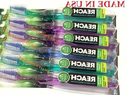 MADE IN USA 12 Reach Toothbrush Crystal Clean  Bristles WHOL