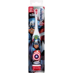 marvel characters electric toothbrush