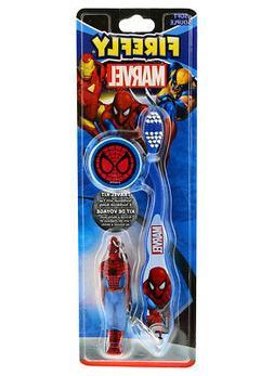Marvel Firefly Wolverine Soft Toothbrush+Cap & Keychain Budd