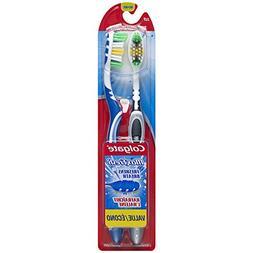 Colgate Max Fresh Toothbrush Twin Pack, Full Head Medium