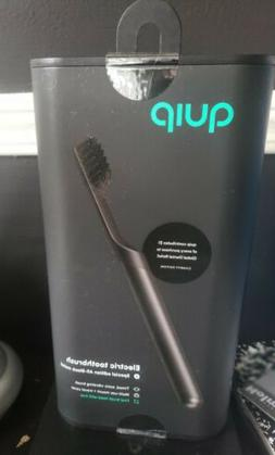 QUIP Metal Electric Toothbrush Special Edition All Black Fir