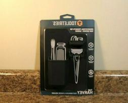 Mighty Toothbrush Holder Color: Charcoal, New