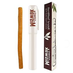 GOWO Miswak Stick and Holder - Natural Teeth Whitening Kit -