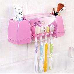 HOLDESS Multifunctional Toothbrush Holder Storage Box Bathro