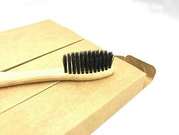 Eco-Friendly Organic Bamboo Toothbrush w/ Soft BPA-Free Bris