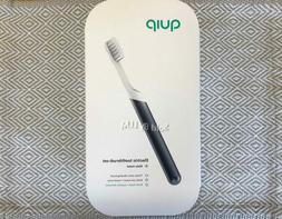 NEW & SEALED! QUIP METAL Electric Toothbrush Sonic SLATE Tra