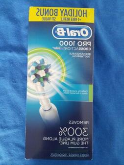 New and Sealed Oral-B  Pro 1000 CrossAction Electric Toothbr