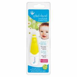- NEW - Brush-Baby BabySonic Electric Toothbrush - YELLOW -