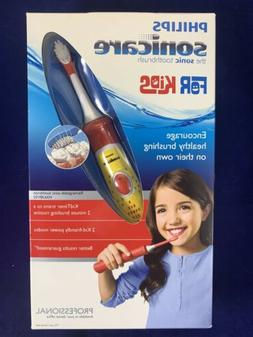 New PHILIPS Sonicare for Kids Battery Rechargeable Toothbrus