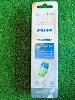 NEW Philips Sonicare Optimal Plaque Control C2 - 3 Replaceme