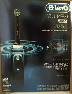 New Oral-B Genius 8000 Electronic Toothbrush Midnight Black