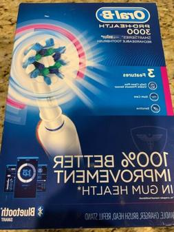 New Sealed Oral-B Pro 3000 3D Action Smart Series Rechargeab